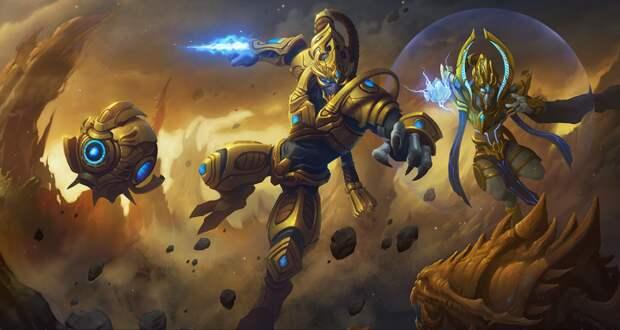 StarCraft 2: Управление мышкой взглядом и зафотонивание голосом - такого старкрафта вы еще не видели!