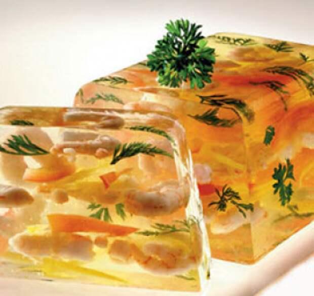 Заливное из креветок / Закуски из морепродуктов / TVCook: пошаговые рецепты  с фото