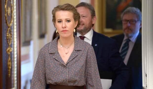 Собчак рассказала о желании сделать пластику груди