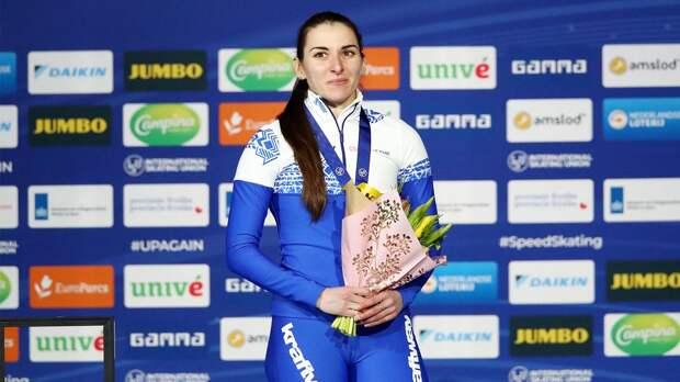 Кравцов назвал исторической победу Голиковой на ЧМ. Российские конькобежки выиграли 500-метровку впервые за 25 лет