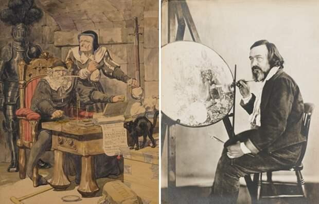 Шедевры из психбольницы и другие малоизвестные факты о художнике Дадде, который 40 лет провёл в «жёлтом доме»