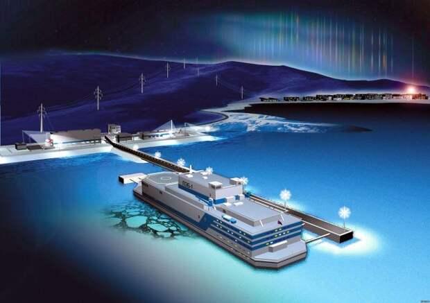 Балтийский завод построит целую серию плавучих АЭС
