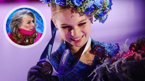Тарасова: «Я бы лично хотела увидеть Трусову на трех Олимпиадах»