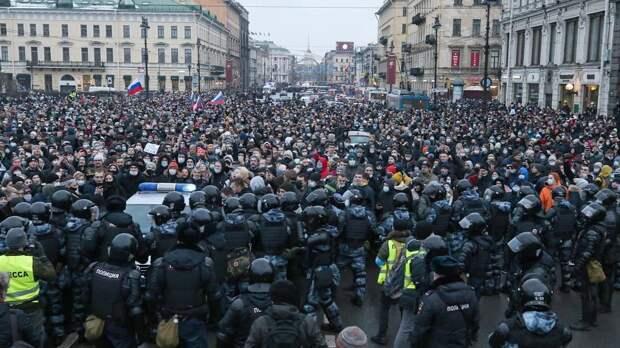 В ОП РФ отметили корректные действия полиции в ходе несанкционированной акции в Москве