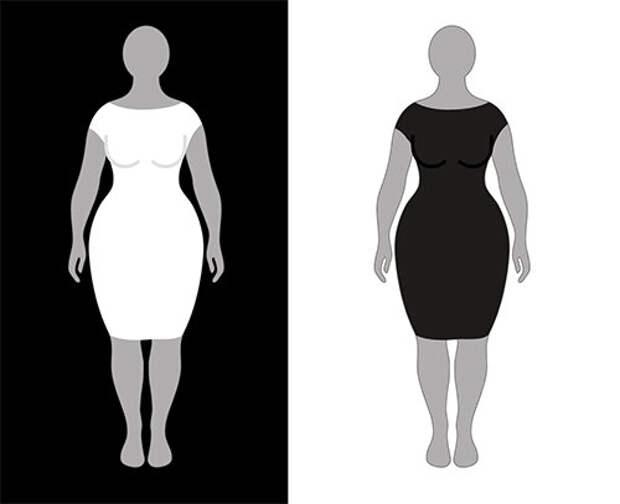 Неочевидный способ использования оптической иллюзии в одежде