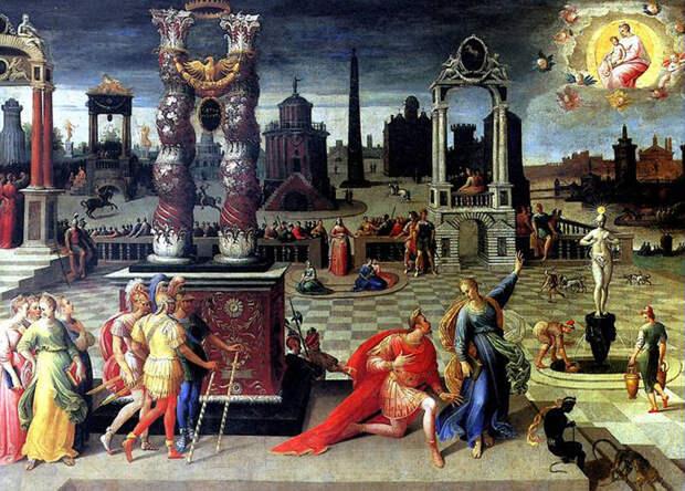 Император Август и Тибуртинская сивилла