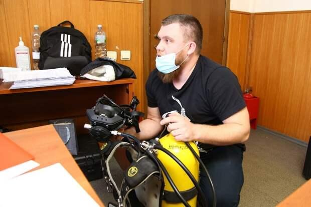 На ПСС «Строгино водолазная комиссия оценила готовность работников к летнему периоду