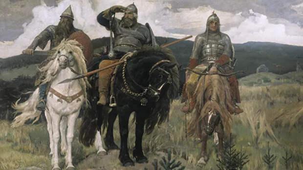 Трех русских богатырей объявили украинцами