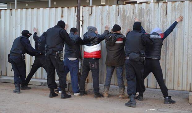 В Оренбурге выявили мигрантов, незаконно работающих на стройке