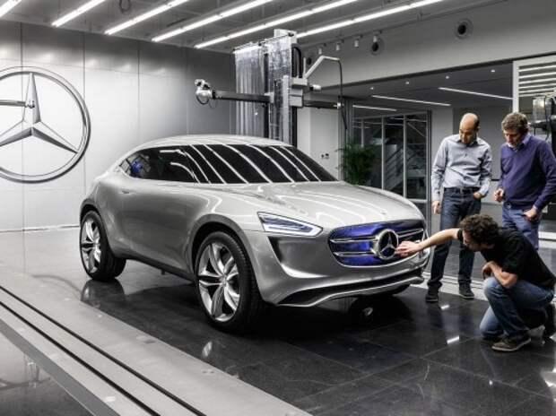 Mercedes-Benz представил очень необычный компакт-кроссовер