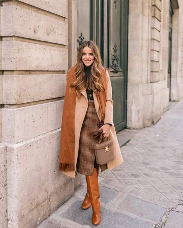 ТОП-6 зимних юбок, которые будут носить женщины с великолепным вкусом