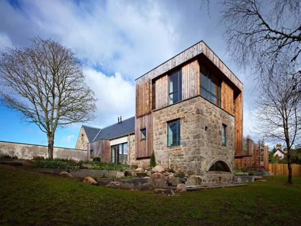 Дизайн дачного дома: 15 фото