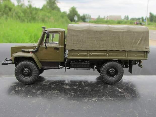 ГАЗ-3308 – достойная замена легендарной «Шишиги»