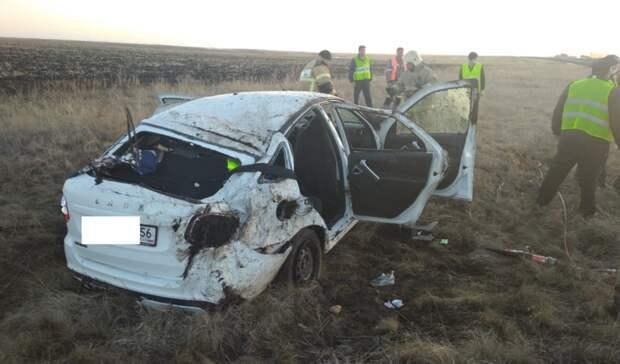 ВДТП натрассе Оренбург— Орск погибла женщина итравмированы три человека