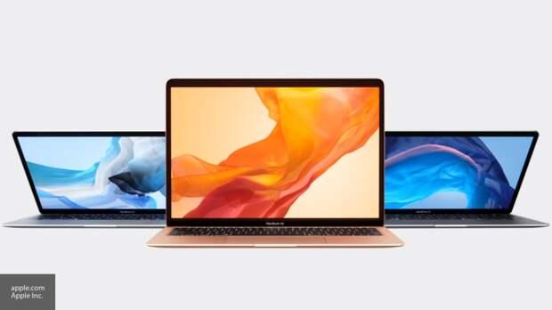 Apple представили новейший легкий ноутбук с Touch ID и камерой FaceTime HD