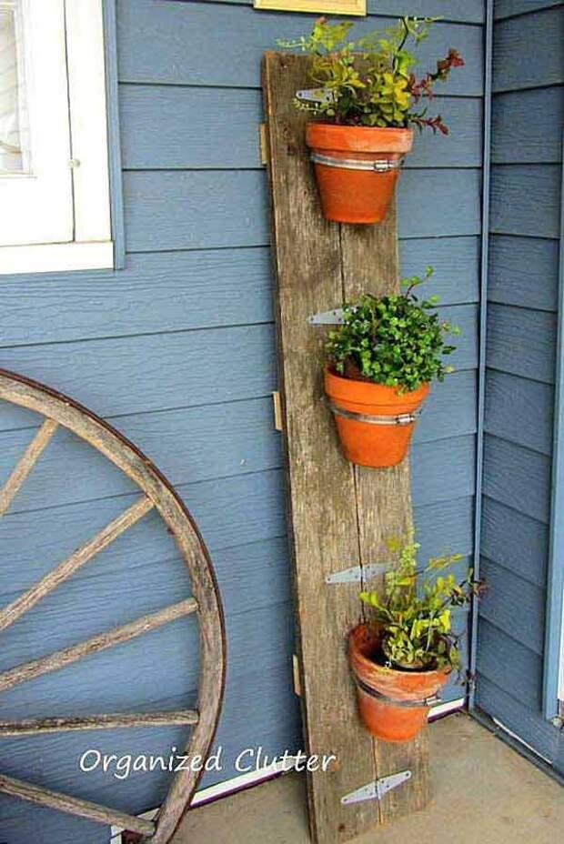 Милые идеи из дерева, которые точно приглянутся дачникам