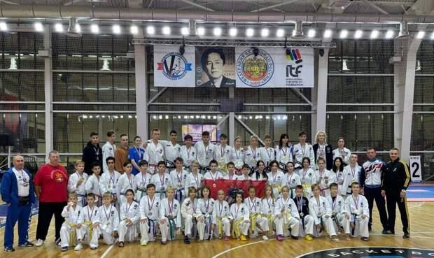 Спортсмены из Щукина привезли более 30 золотых медалей с Чемпионата по тхэквондо