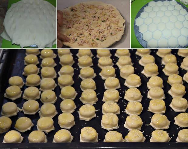 маленькие пирожки в духовке