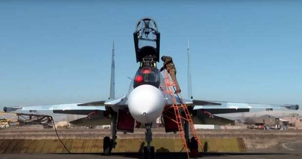 Армянские истребители Су-30СМ направлены на границу