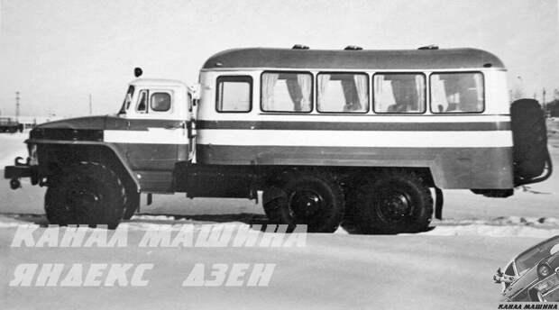 Серийный вахтовый автобус КАВЗ-49471