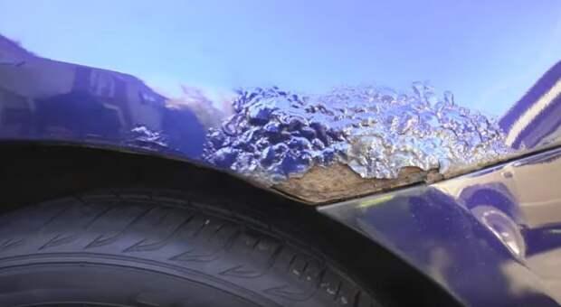 Российским водителям рассказали о провоцирующих появление ржавчины на кузове авто ошибках