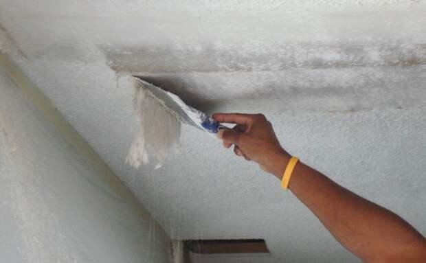 Как подготовить потолок к покраске: пошаговая инструкция