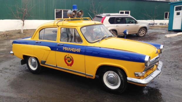 Первый массовый автомобиль ГАИ.  Фото: drive2.ru.