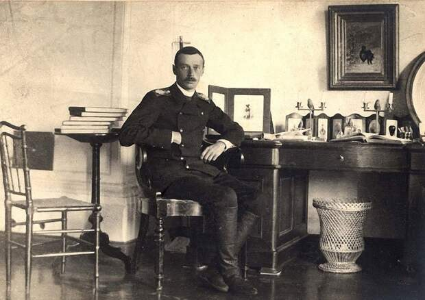 Цесаревич Георгий в Абастумане.