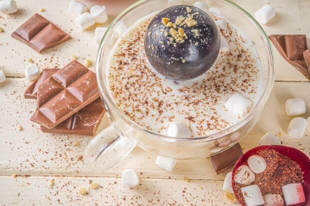 В честь Дня шоколада в Свиблове провели мастер-класс по приготовлению какао-бомбочки