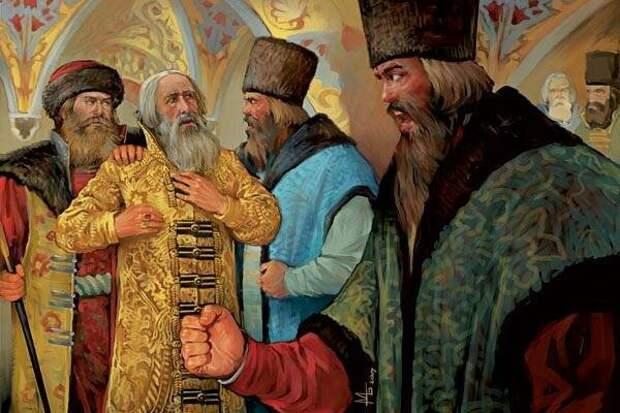 Бояре и Василий Шуйский