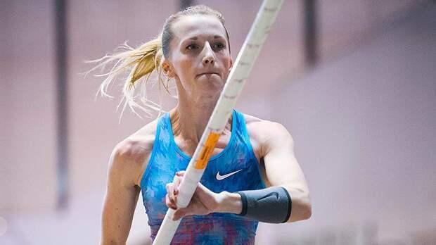 Прыгунья с шестом Анжелика Сидорова побеждает с лучшим результатом сезона в мире!