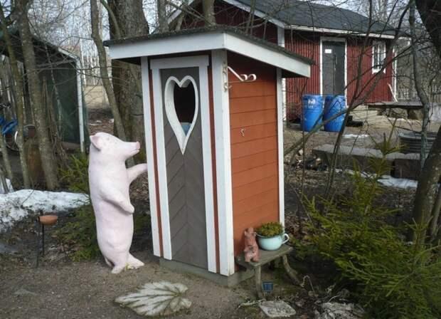 Мир полон удивительного: самые необычные сортиры деревенский сортир, прикол, сортир, туалет, юмор, японский сортир