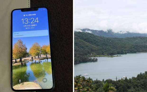 Тайванец нашел работающий айфон. Все бы ничего, но он год пролежал в озере