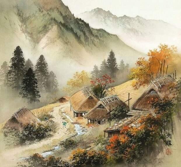 художник Коукеи Кодзима (Koukei Kojima) картины – 34