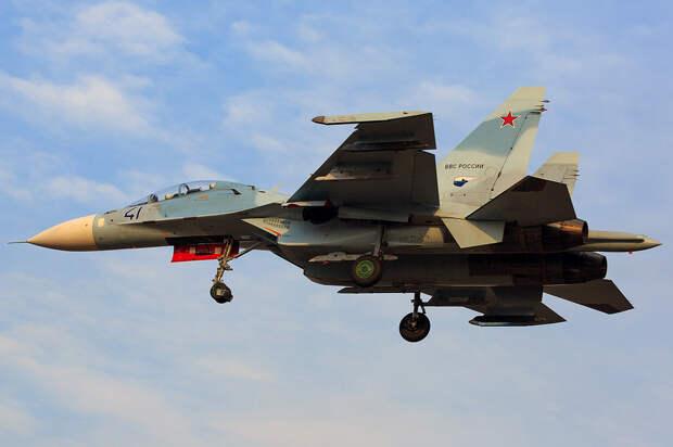 Новые Су-30 ВВС России