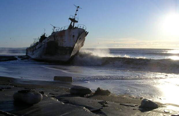 Сейбл: скрытый в тумане «кочевой» остров потерянных кораблей
