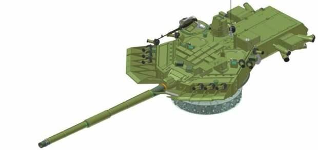 У России может появиться секретный основной боевой танк