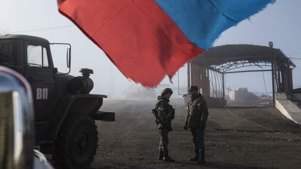 Миротворцы РФ помогают восстанавливать инфраструктуру Карабаха