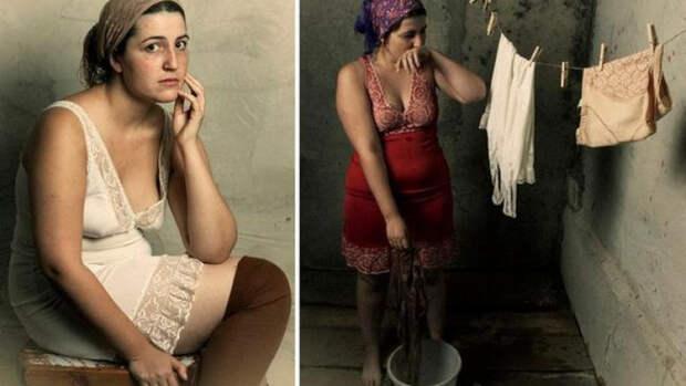 Зачем советские женщины во времена носили комбинации.