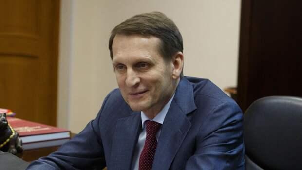 Глава СВР прокомментировал высылку дипломатов из Чехии