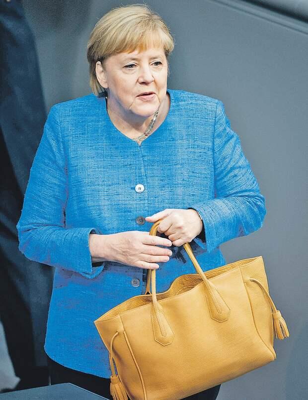 Канцлер Германии Ангела Меркель. Фото: GLOBAL LOOK PRESS
