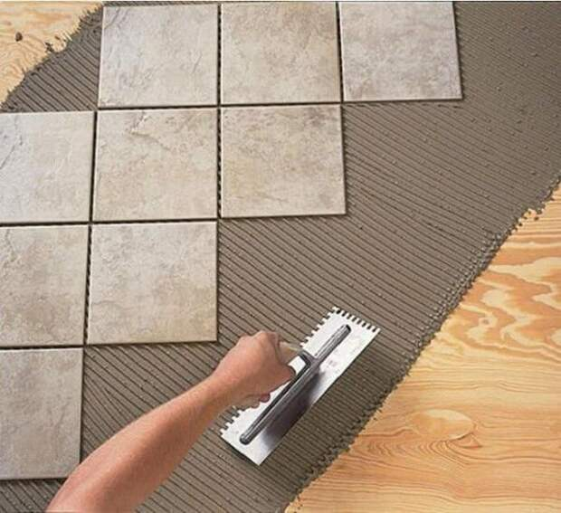 Нюансы укладки плитки на неровную поверхность