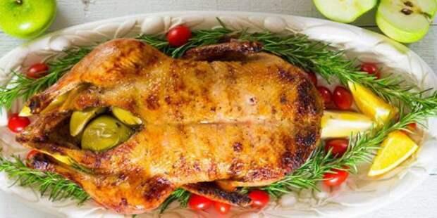 Рецепты утки в духовке: Как запечь утку с яблоками