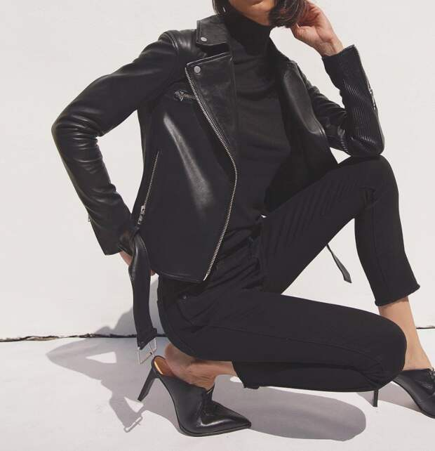 Этот роскошный Total black: 15 стильных осенних образов