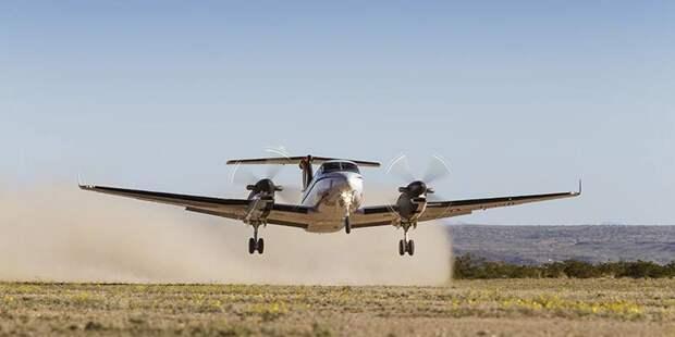 Beechcraft King Air. Рабочая лошадка американских ВВС