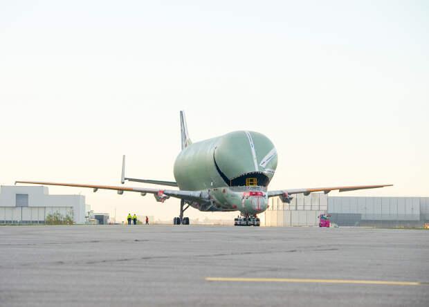 Европейцы показали новый самолет для негабаритных грузов