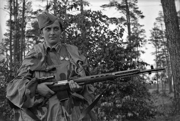 Каких женщин-красноармейцев солдаты вермахта боялись больше всего