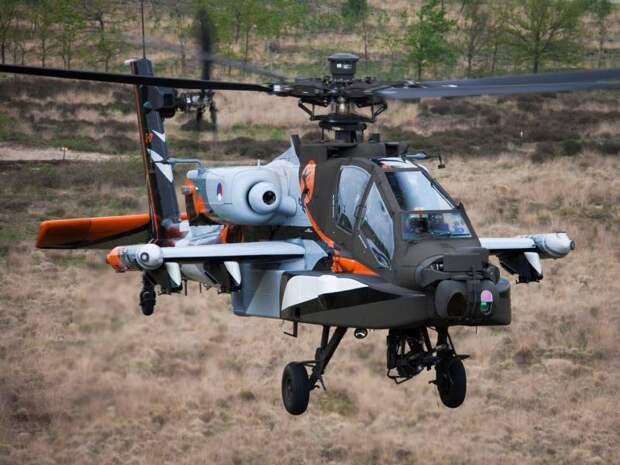 Boeing проведет модернизацию голландских вертолетов Apache