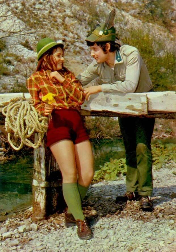 Романтические фотографии пар 1960-х годов