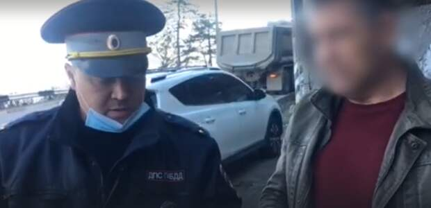 В Ялте задержали водителя, перевозившего наркотики